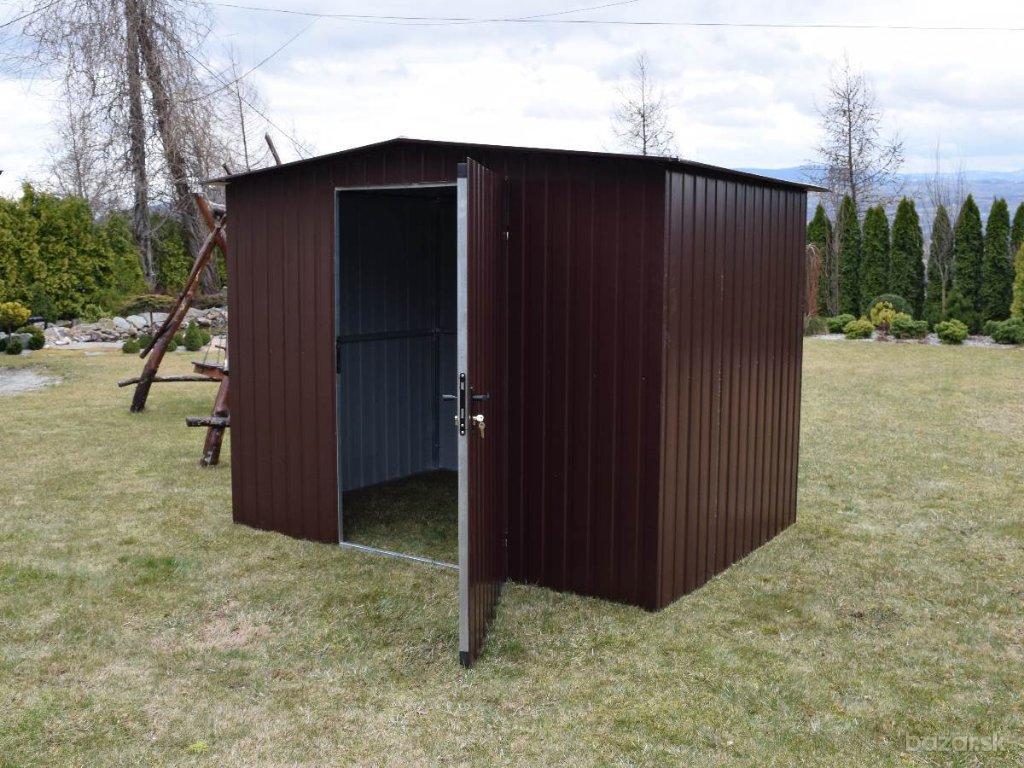 2.6 x 1.8 sedlová strecha Záhradný domček